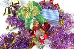 accessory decorations in christmas or new year. - stock photo