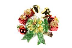 Accessory decorations of christmas. Stock Photos