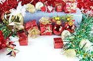 Stock Photo of accessory decorations in christmas or new year.