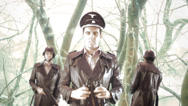 Stock Video Footage of Nazi snow ww2 nazi command