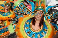 Stock Photo of Member of the Ala section of the Brazilian Carnival