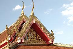 Thai temple fine art Stock Photos