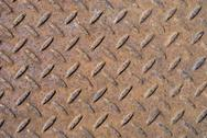 Stock Photo of Background Texture Of Old Rusty Metal Diamond Plate