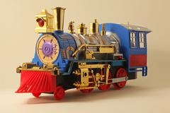 Stock Photo of Toy train