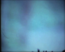 SUPER8 completely blurred super 8 footage - mysterious ambiance - camera defekt Stock Footage