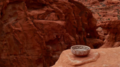 indian pottery native american archeology 27 - stock footage