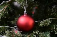 Stock Photo of christmas tree decorations