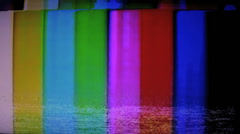 VHS Drop out Stock Footage