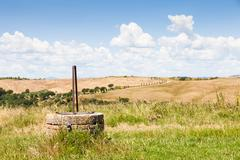 tuscan country - stock photo