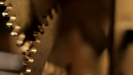 Stock Video Footage of Gears roling mechanical clockwork