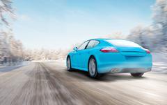 Porsche Panamera. Stock Photos
