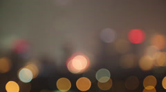 Lens flare of fireworks in Chinese Spring festival Stock Footage