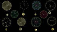 Stock After Effects of Pendulum clock constructor