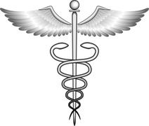 Caduceus. - stock illustration