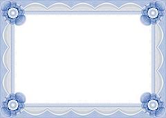 Frame for diploma. - stock illustration