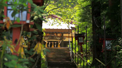 Buddhist temple. Stock Footage