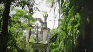 Stock Video Footage of Xilitla, buildings in the forest