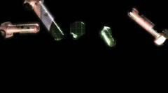 Screws electro  720p - stock footage