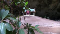 Kuha Karuhas Pavilion, Nakhon Cave.Thailand. HD 1080p. Stock Footage