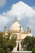 saint louis cathedral in tunisia - stock photo
