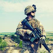 US marine Stock Photos