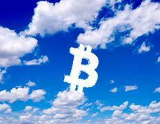 Bitcoin pilvet Piirros