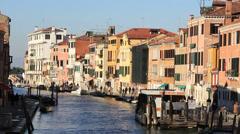 Sunny Venice, Italy Stock Footage