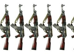 ak 47 - stock photo