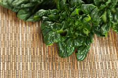 healthy choy ready for cooking - stock photo