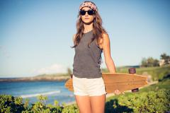 Stock Photo of hipster girl