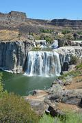 Shoshone falls in idaho, usa Stock Photos