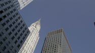 Stock Video Footage of Chrysler Building in New York City