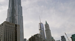 Financial District in New York City Stock Footage