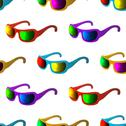 Stock Illustration of Sunglasses, seamless background