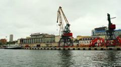 The Vladivostok Sea, Passenger Terminal Stock Footage