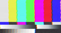 Test pattern TV, bad signal (24 fps) Footage