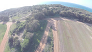 Stock Video Footage of quadcopter areal footage