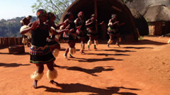 African Tribe 4 Stock Footage