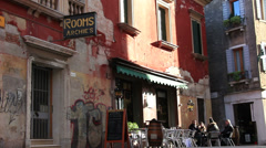 Rooms & wine bar and Venice Stock Footage