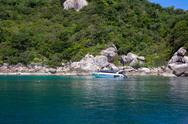 Stock Photo of Beautiful Paradise Tropical Island, Koh Tao