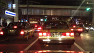 Stock Video Footage of Tokyo Night Traffic