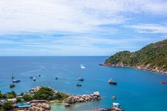 Nang Yuan island in Thailand - stock photo