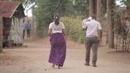 Stock Video Footage of People Walking Africa