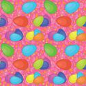 Stock Illustration of Seamless background, Easter eggs