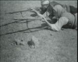 Stock Video Footage of 1920 - 1930 - Turkish Infantry 01