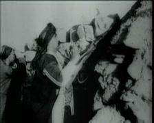 1920 - 1930 - Turkish Infantry 02 Stock Footage
