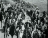 Stock Video Footage of 1920 - 1930 - Turkish Infantry 04 - Turkish Cavalry 01