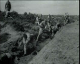 Stock Video Footage of 1920 - 1930 - Turkish Infantry 05