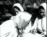 Stock Video Footage of 1920 - 1930 - Turkish WomenWorking 01