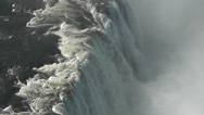 Stock Video Footage of Aerial of Victoria Falls